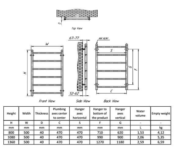Technical drawing QS-V100408 / RNS-SVO080
