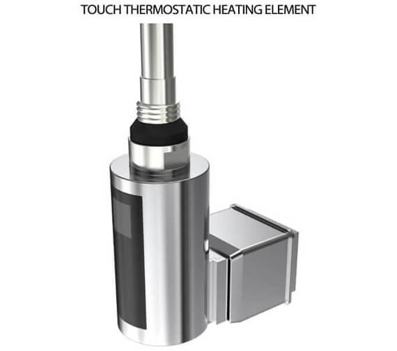 Additional image of Reina Alpan 1500mm High Texture White Aluminium Vertical Radiator