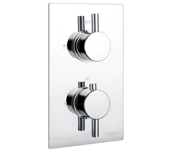 Niagara Equate Concealed Thermostatic Shower Valve Round
