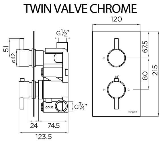 Technical drawing QS-V93870 / 9312
