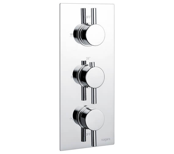 Additional image of Niagara Equate Concealed Thermostatic Shower Valve Round