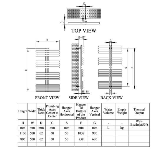 Technical drawing QS-V81230 / RNS-SR608