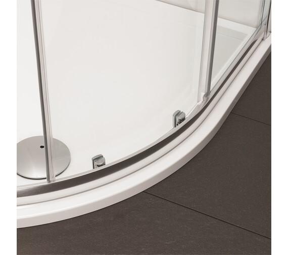 Alternate image of Crosswater Kai 6 1900mm Height Offset Quadrant Single Door