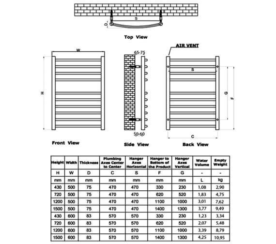 Technical drawing QS-V22584 / RNS-ES5043