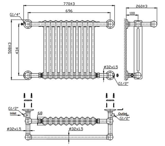 Technical drawing QS-V81207 / RND-CM01