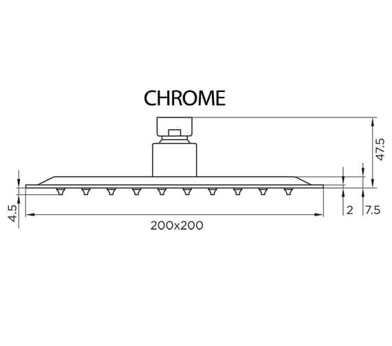 Technical drawing QS-V98077 / 9333