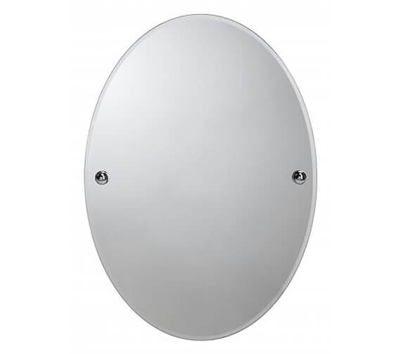 Croydex Worcester Flexi-Fix 320 x 450mm Oval Mirror