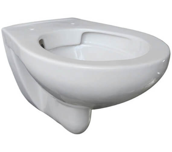 Lecico Atlas 523mm Projection Rimless Wall Hung WC Pan