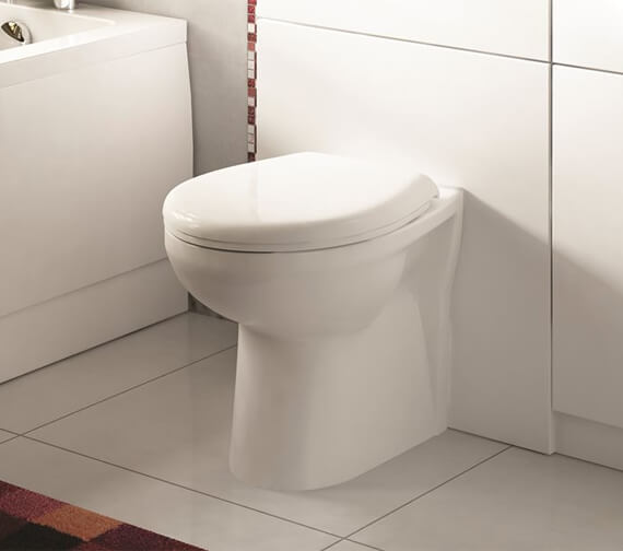 Lecico Atlas Pro Back To Wall WC With Cistern And Soft Close Seat