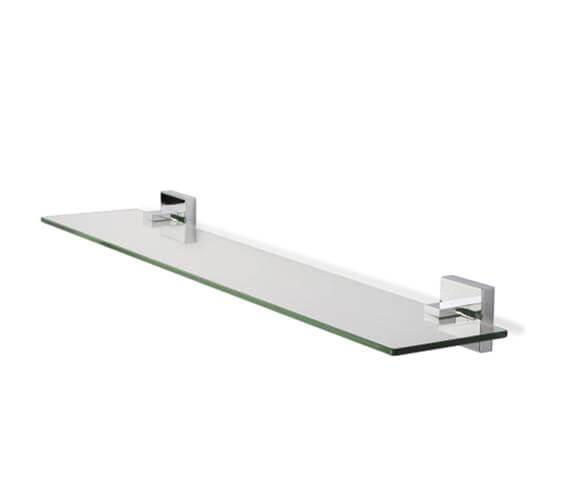 Croydex Flexi-Fix Everson Glass Shelf 638mm Wide