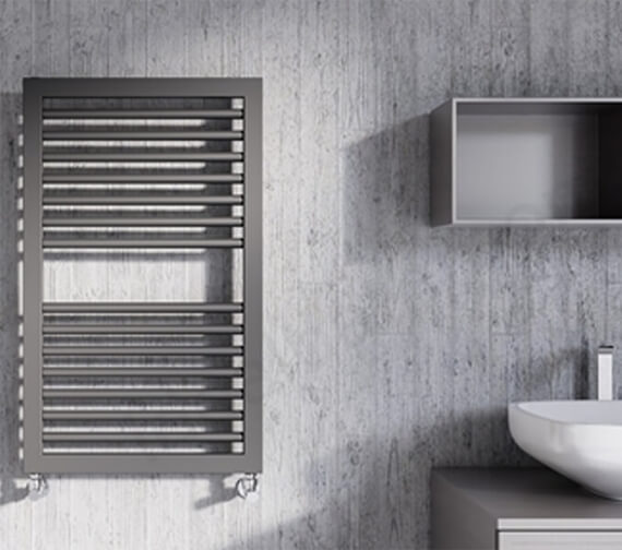 Lazzarini Asti 500mm Width Towel Radiator