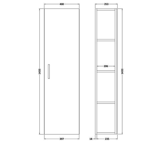 Technical drawing QS-V90022 / FMA460
