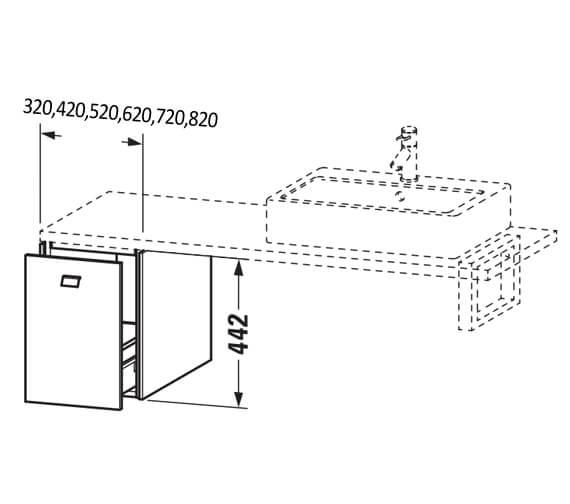 Technical drawing QS-V104421 / BR513001818