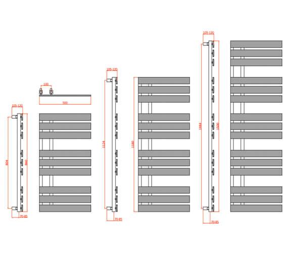 Technical drawing QS-V81087 / RND-SS508