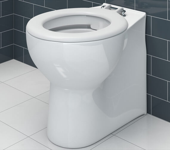 Lecico Atlas Rimless 500mm Projection Back To Wall Or Close Coupled WC Pan