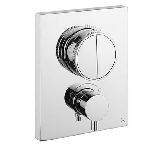 Crosswater MPRO Crossbox Thermostatic Shower Valve