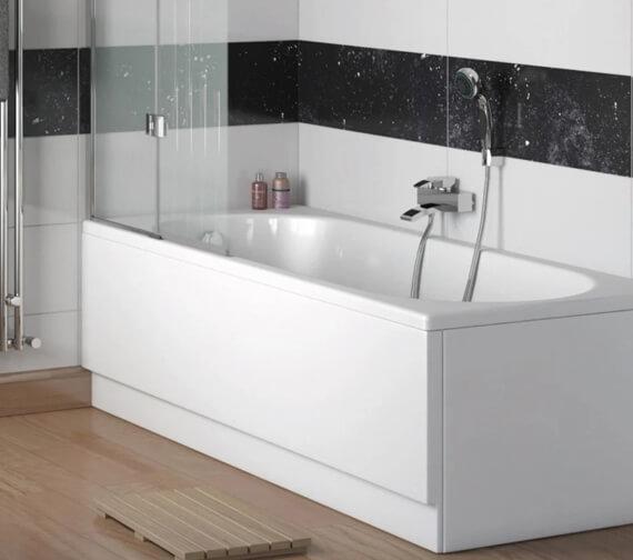 Lecico Atlas Harlow 1700mm x 700mm Encapsulated 5mm Acrylic Bath Tub