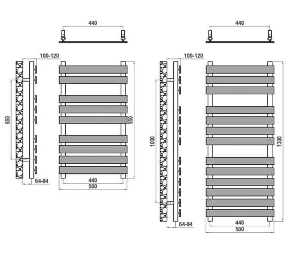 Technical drawing QS-V20703 / RND-TRT5095