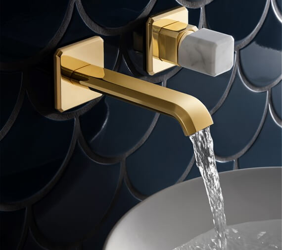 Crosswater Italy Wall Mounted 2 Hole Basin Tap