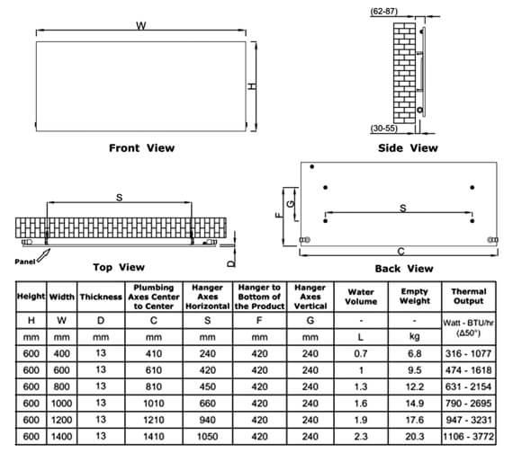 Technical drawing QS-V90645 / RND-SLN06004W