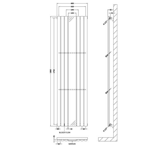 Technical drawing QS-V50371 / HLA78