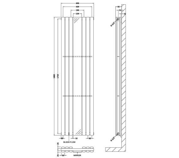 Technical drawing QS-V50369 / HLA79