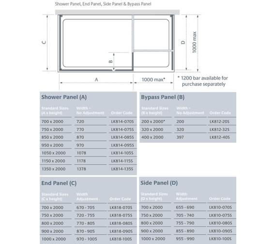 Technical drawing QS-V25146 / LK814-070S
