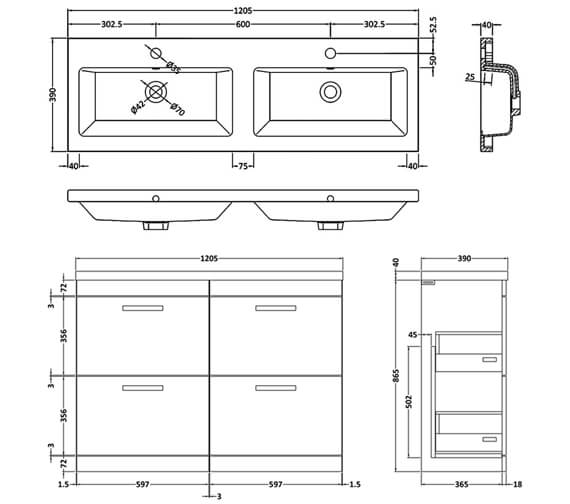 Technical drawing QS-V42488 / ATH034C