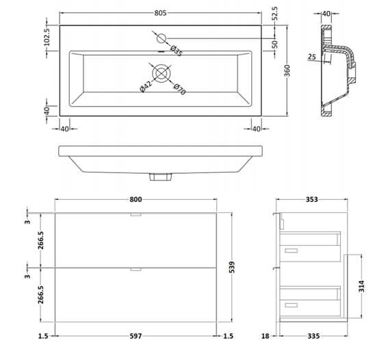 Technical drawing QS-V98043 / CBI130