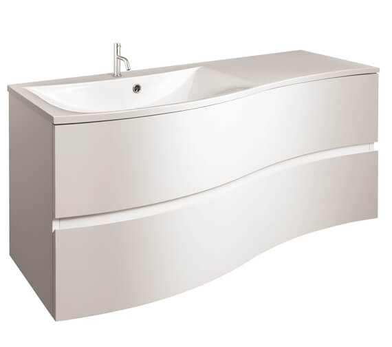 Additional image of Crosswater Svelte 1000mm Wall Mounted 2 Drawer Unit