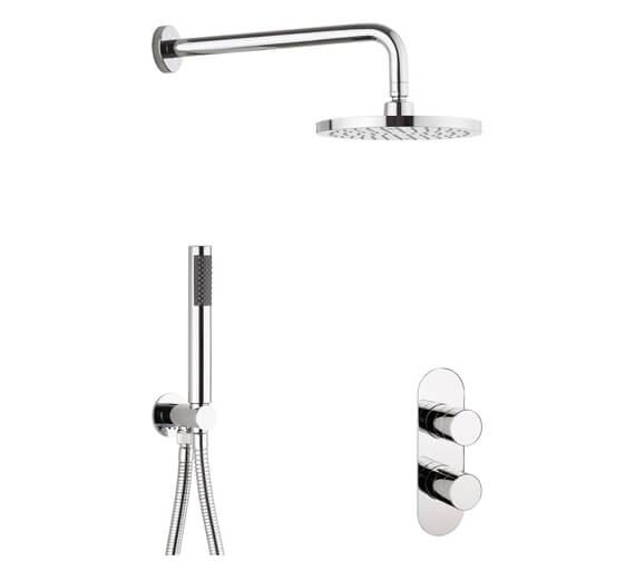 Crosswater Central 2 Outlet 2 Handle Shower Set
