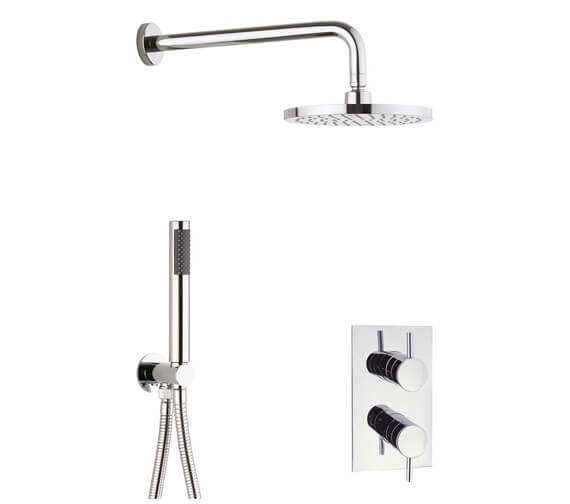 Crosswater Kai 2 Outlet 2 Handle Shower Set