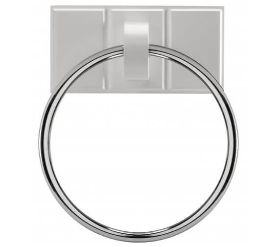 Croydex Portland Round Ring For Towel