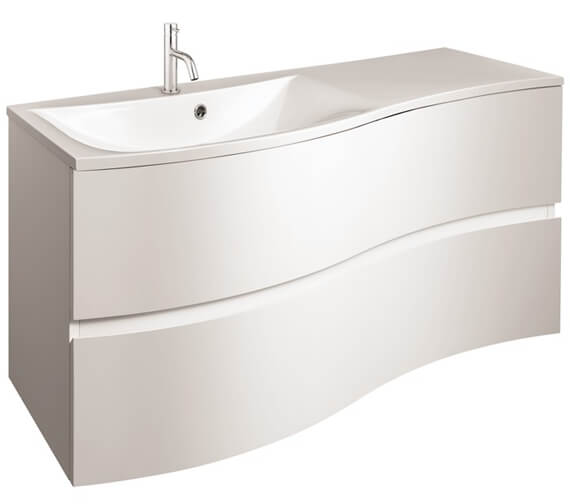 Crosswater Svelte 1000mm Wall Mounted 2 Drawer Unit