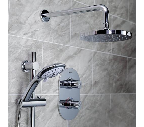 Bristan Artisan Shower Pack With Multi Function Handset - ARTISAN SHWR PK2