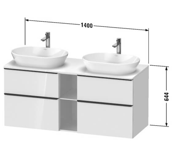 Technical drawing QS-V104424 / DE4970L1818