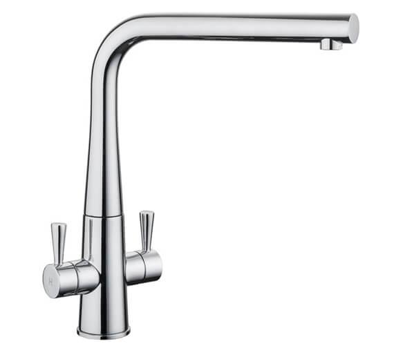 Rangemaster Conical Dual Lever Kitchen Sink Mixer Tap