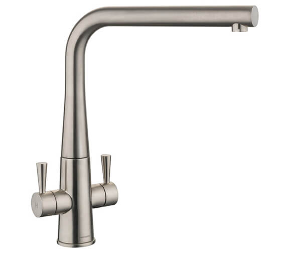 Additional image of Rangemaster Conical Dual Lever Kitchen Sink Mixer Tap