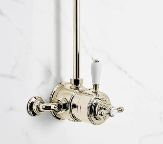 Alternate image of Aqualisa Aquatique Exposed Thermostatic Shower Mixer Valve - 500.10.01