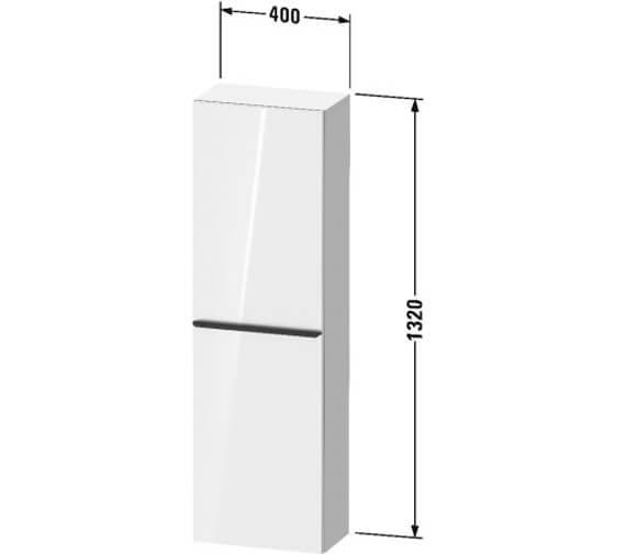Technical drawing QS-V104532 / DE1318L1818