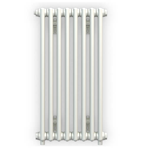 Bisque Classic Wall Hung 2 Column Towel Radiator