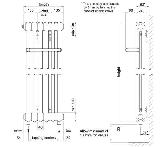 Technical drawing QS-V102768 / 2W75379010