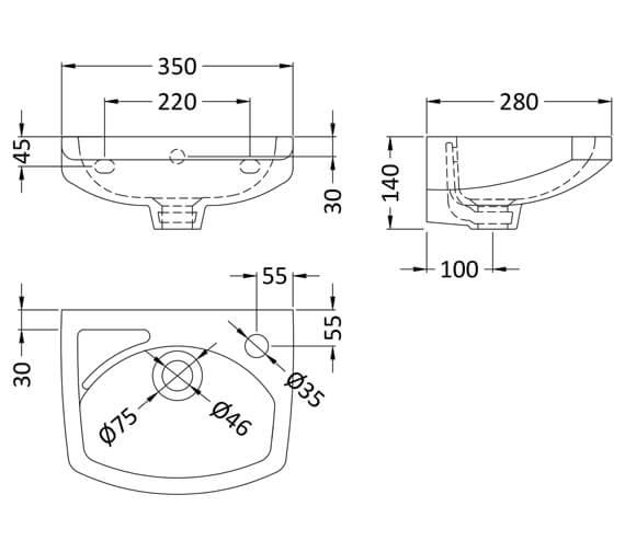 Technical drawing QS-V26443 / NCU832