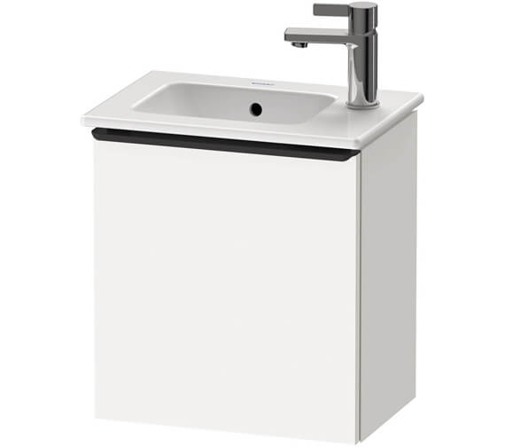 Duravit D-Neo 410mm Wide Wall Mounted Vanity Unit For Vero Air Basin