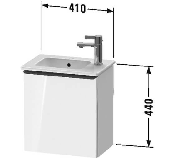 Technical drawing QS-V104540 / DE4259L1818