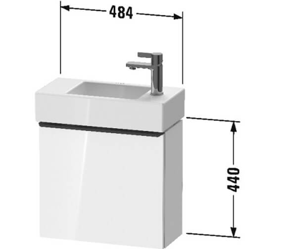 Technical drawing QS-V104536 / DE4219L1818