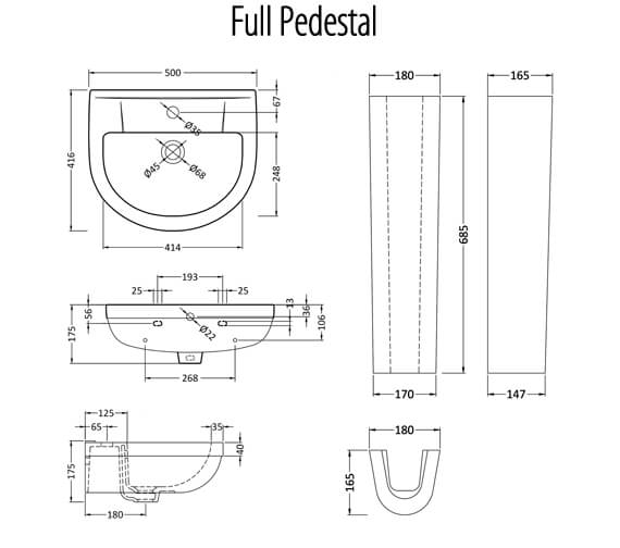 Technical drawing QS-V75558 / CHM002