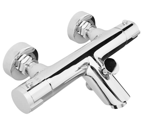 Nuie Wall Mounted Thermostatic Bath Shower Mixer Tap - VBS021
