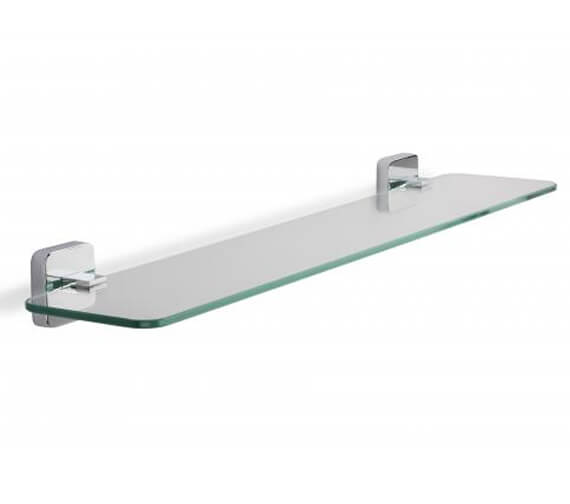 Croydex Camberwell Flexi-Fix Glass Shelf