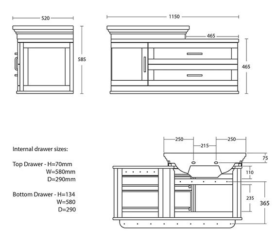 Technical drawing QS-V104093 / XJ31900020